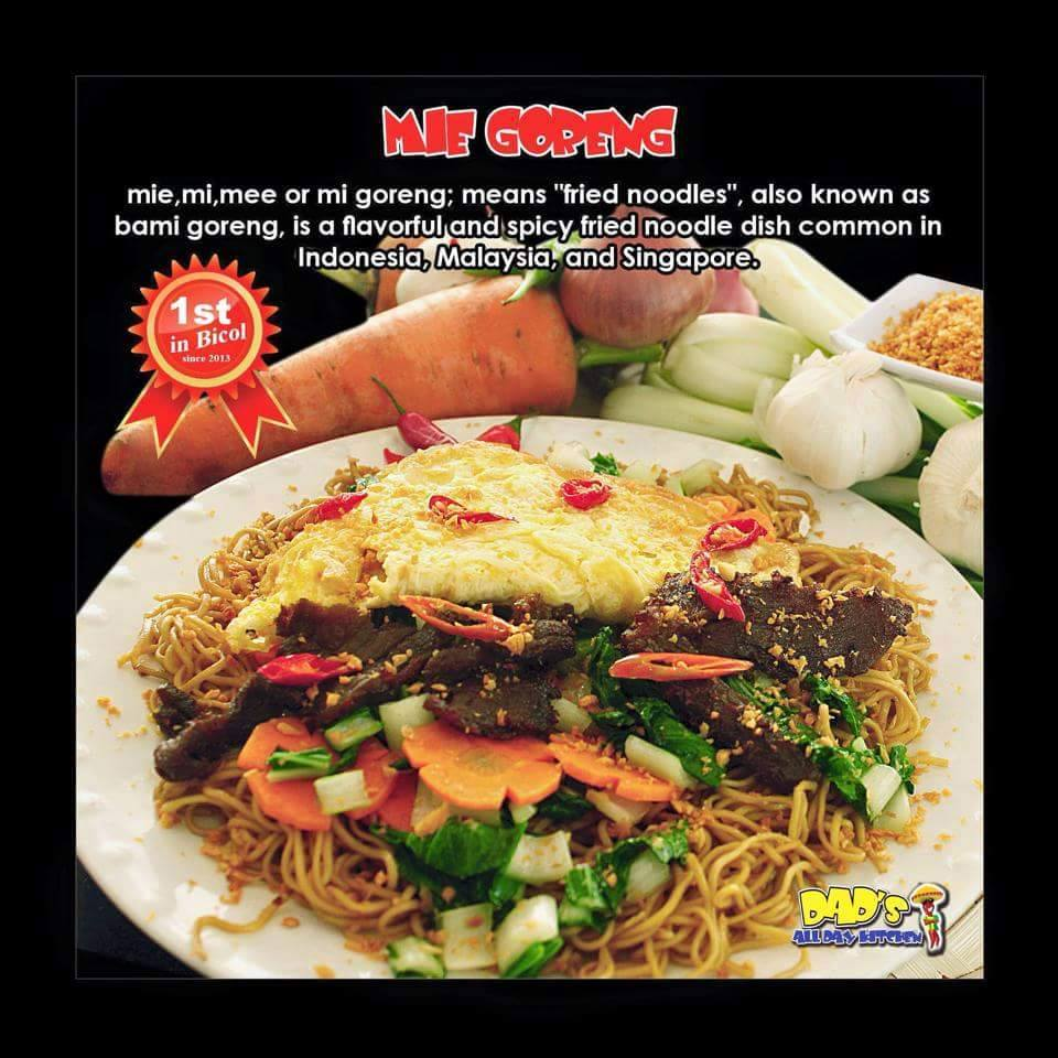 Mie Goreng - Dad's All Day Kitchen