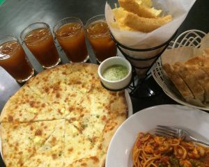 Four Cheese Pizza - Grissini Ristorante