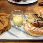 Cheezy Mushroom Burger - Insolidum Grill