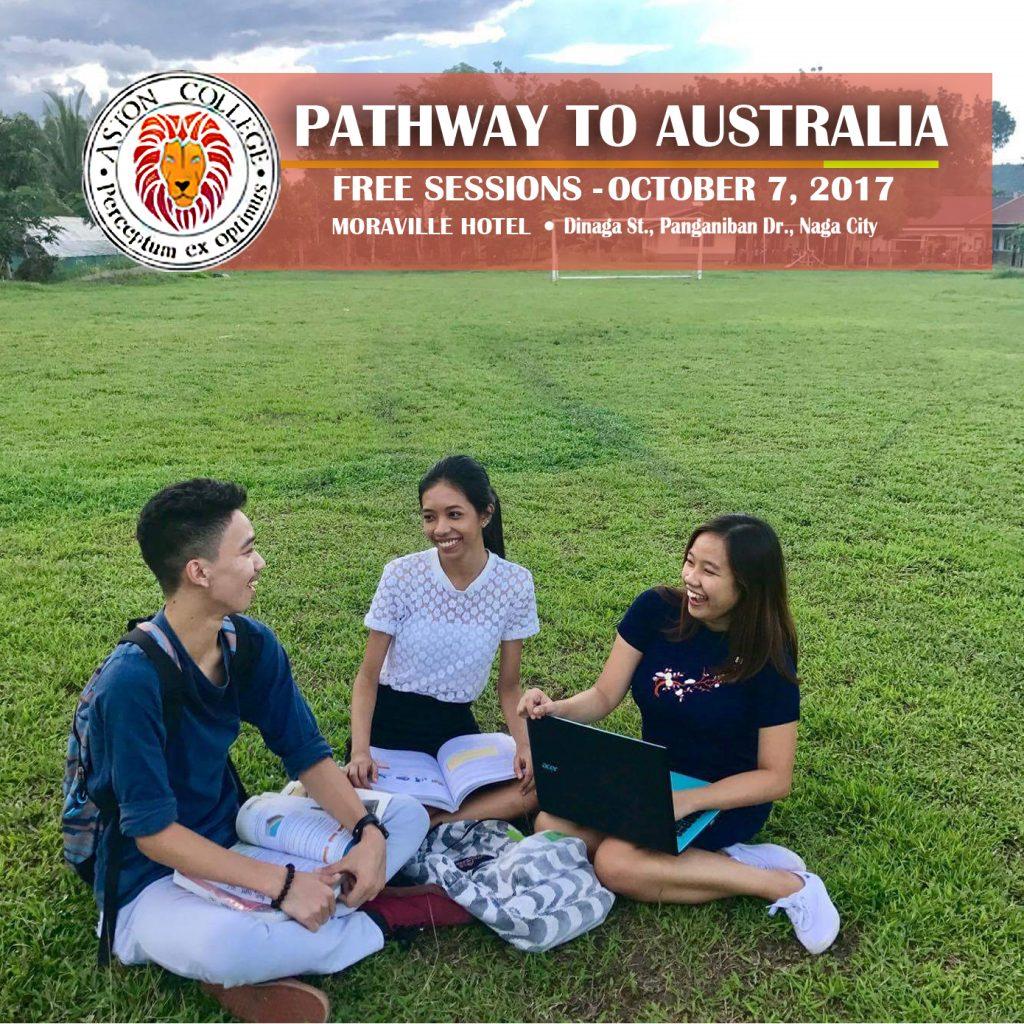aston college pathway to australia