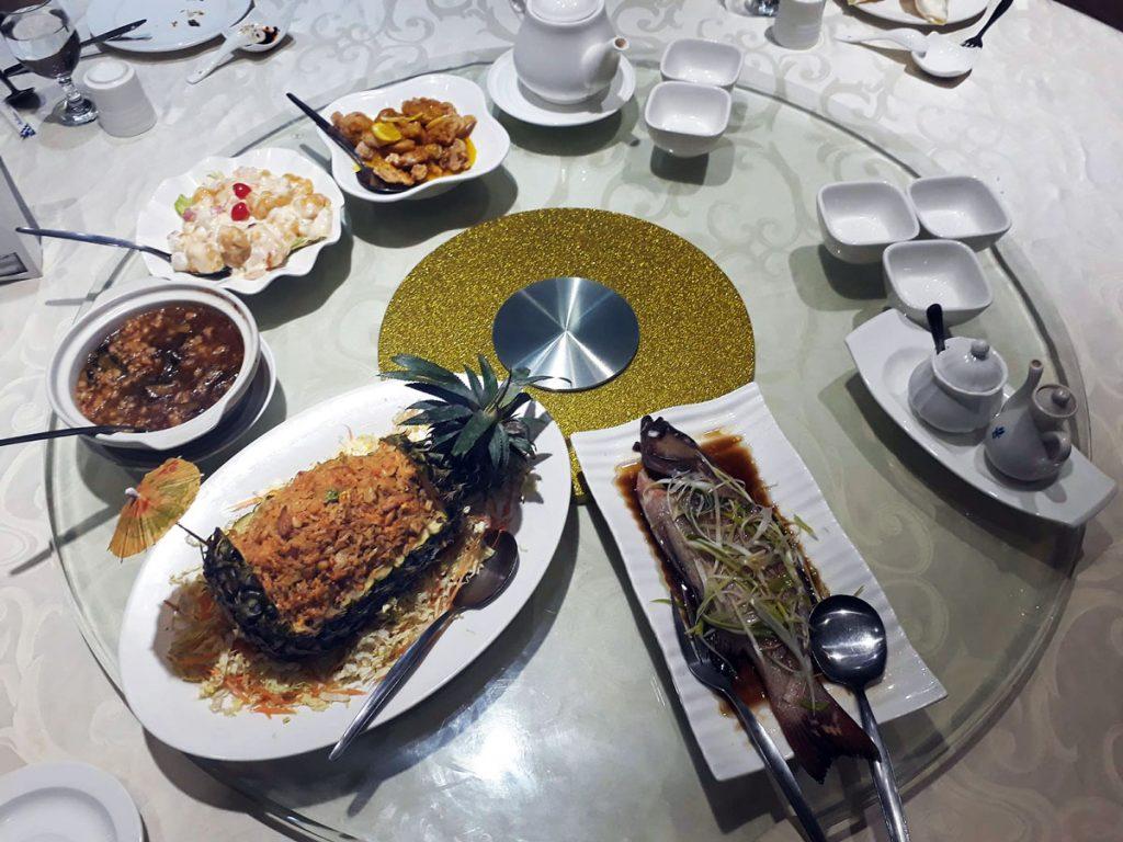 chinese food in legazpi south ocean villa