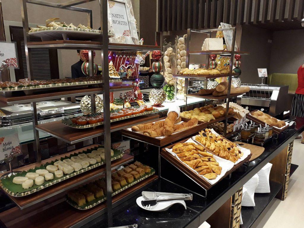 villa caceres hotel rjs buffet native snacks
