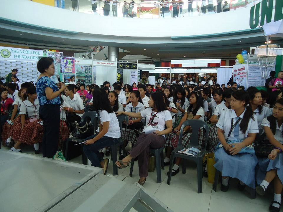 Panel Discussion at the 1st Bicol Career and Education Expo