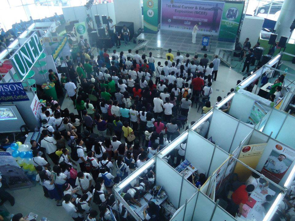1st Bicol Career and Education Expo