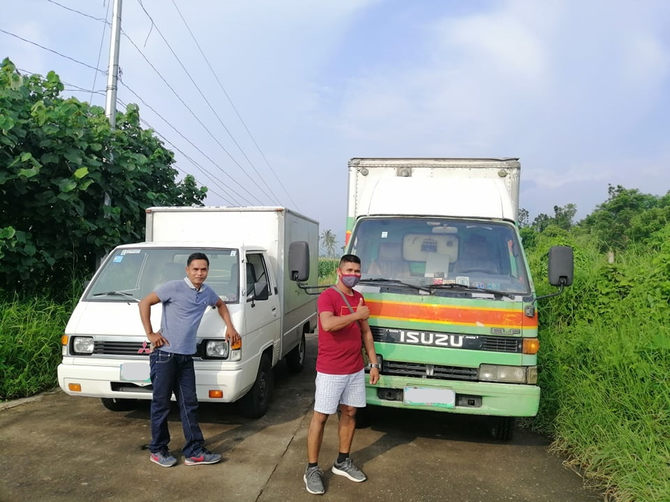 isuzu elf and mitsubishi van driver and porter_grace and faith trucking services